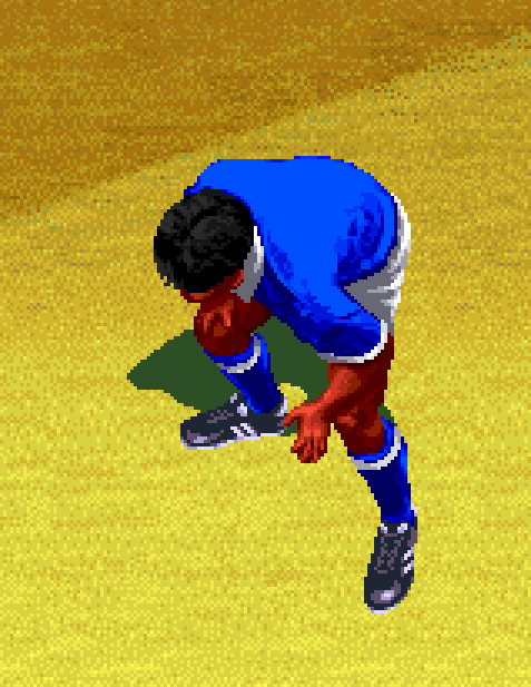 Kick Off World Funsoft Anco Software 1998 Sony PlayStation PSX PSone Sports Football Soccer Pixel Art Xtreme Retro