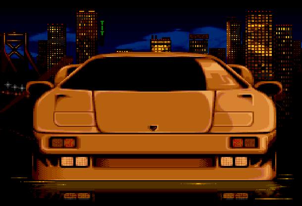 Lamborghini American Challenge Titus Super Nintendo SNES Amiga PC Xtreme Retro 1