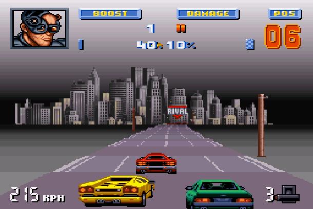 Lamborghini American Challenge Titus Super Nintendo SNES Amiga PC Xtreme Retro 3