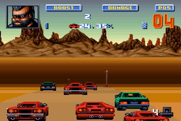 Lamborghini American Challenge Titus Super Nintendo SNES Amiga PC Xtreme Retro 4