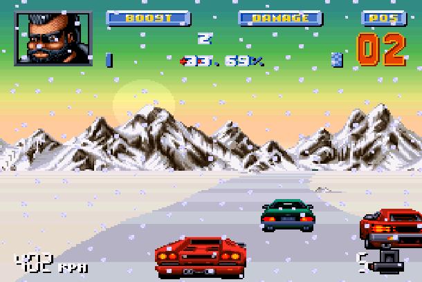 Lamborghini American Challenge Titus Super Nintendo SNES Amiga PC Xtreme Retro 6