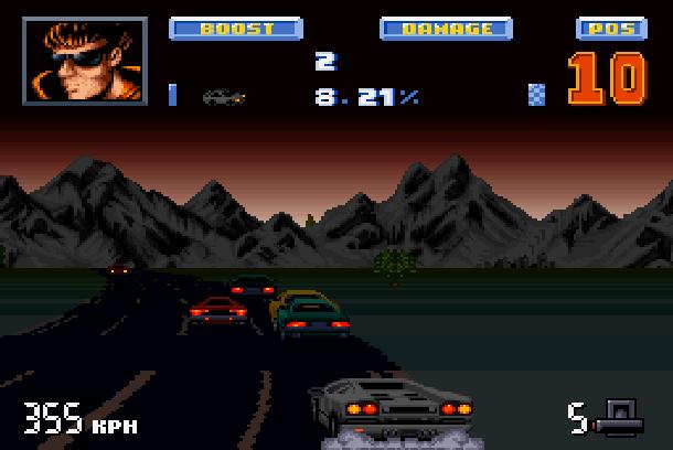 Lamborghini American Challenge Titus Super Nintendo SNES Amiga PC Xtreme Retro 7
