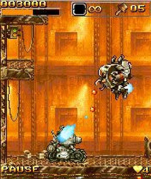 Metal Slug Mobile Impact I-Play Xtreme Retro 3