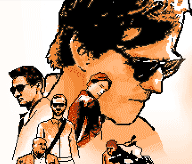 Mission Impossible III Gameloft Cell Phone Java Pixel Art Xtreme Retro