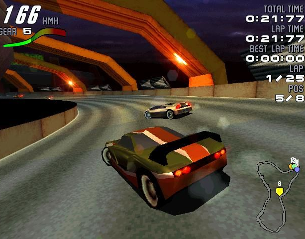 Motorhead Gremlin Interactive Digital Illusions 1998 Sony PlayStation PSX PSone Microsoft Windows PC Racing Xtreme Retro 14