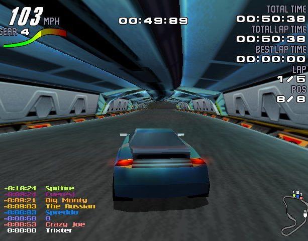 Motorhead Gremlin Interactive Digital Illusions 1998 Sony PlayStation PSX PSone Microsoft Windows PC Racing Xtreme Retro 3