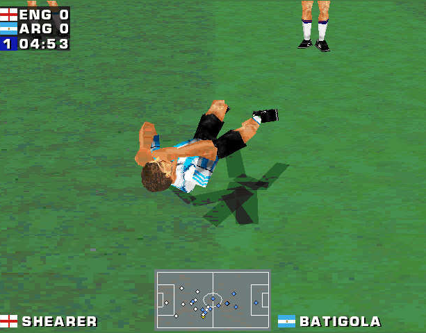 Mundiales 98 Alexi Lalas International Soccer Windows PC Sony PlayStation PSX PSone Sports Xtreme Retro 2