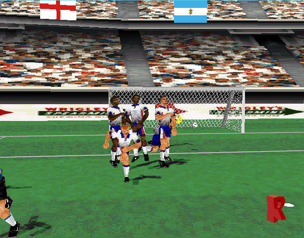 Mundiales 98 Alexi Lalas International Soccer Windows PC Sony PlayStation PSX PSone Sports Xtreme Retro 8