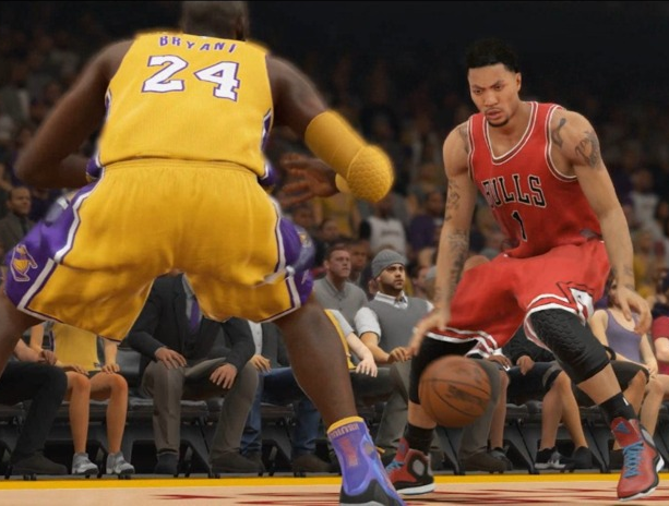 NBA 2K15 Visual Concepts 2K Sports Take-Two Interactive Sony PlayStation 2 PS3 PS4 Xbox 360 One PC Android iOS Xtreme Retro 1