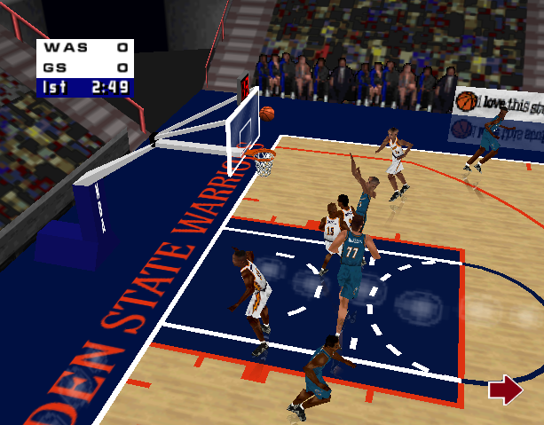 NBA Live 99 Electronic Arts EA Canada Nintendo 64 N64 Sony PlayStation PSX PSone Microsoft Windows Sports Xtreme Retro 11