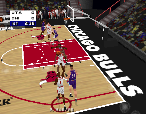 NBA Live 99 Electronic Arts EA Canada Nintendo 64 N64 Sony PlayStation PSX PSone Microsoft Windows Sports Xtreme Retro 5