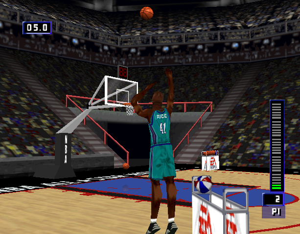NBA Live 99 Electronic Arts EA Canada Nintendo 64 N64 Sony PlayStation PSX PSone Microsoft Windows Sports Xtreme Retro 8