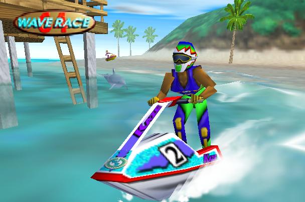 Nintendo 64 N64 Wave Race 64 Xtreme Retro 1