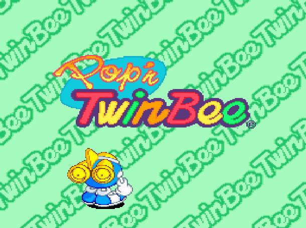Pop'n TwinBee Konami Palcom 1993 Shoot'em up Super Nintendo SNES Xtreme Retro 1