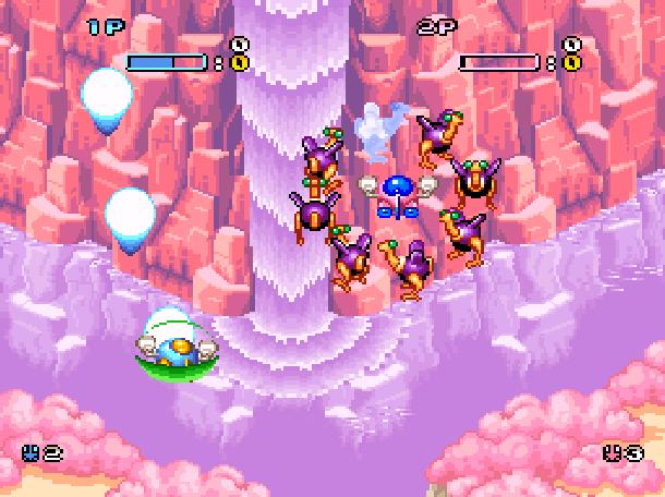 Pop'n TwinBee Konami Palcom 1993 Shoot'em up Super Nintendo SNES Xtreme Retro 5