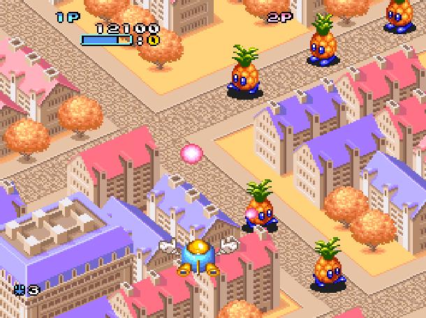 Pop'n TwinBee Konami Palcom 1993 Shoot'em up Super Nintendo SNES Xtreme Retro 7