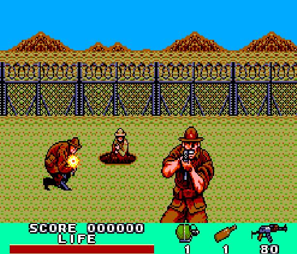 Rambo III Sega Master System MS Light Phaser Xtreme Retro