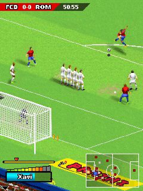 Real Football 2006 Gameloft Java Mobile Xtreme Retro 1