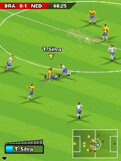 Real Football 2006 Gameloft Java Mobile Xtreme Retro 2