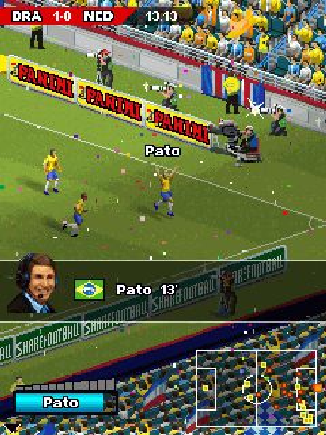 Real Football 2006 Gameloft Java Mobile Xtreme Retro 4
