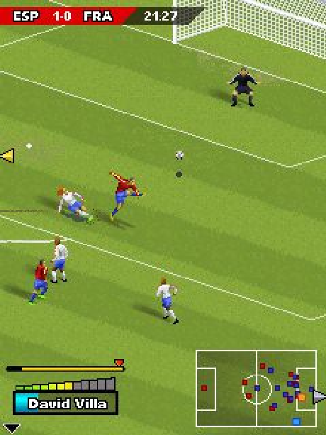 Real Football 2006 Gameloft Java Mobile Xtreme Retro 5