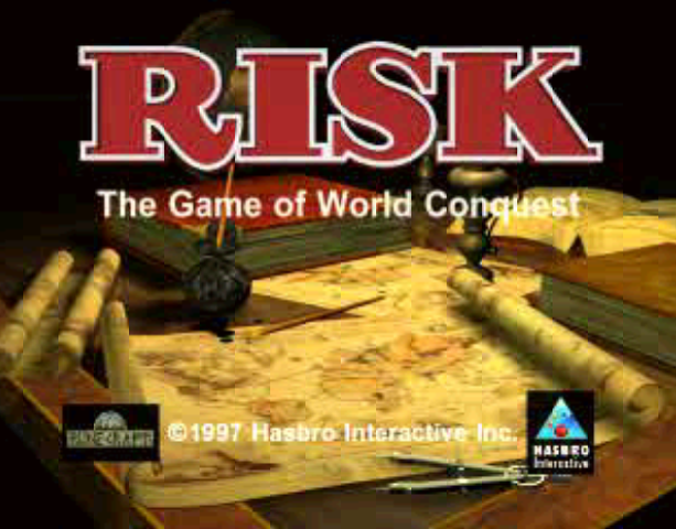 Risk the Game of Global Domination Hasbro Interactive BlueSy Software Sony PlayStation PSX PSone PC Windows Strategy Tactics Xtreme Retro 1