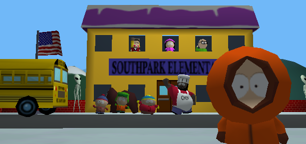 South Park 1998 Nintendo 64 N64 1999 Microsoft Windows PC Sony PlayStation PSX PSone FPS Iguana Entertainment Appaloosa Interactive Acclaim Xtreme Retro 2