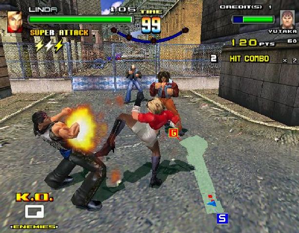 SpikeOut Sega Model 3 Arcade Coin Op Street Brawler Beat'em up Xtreme Retro 5