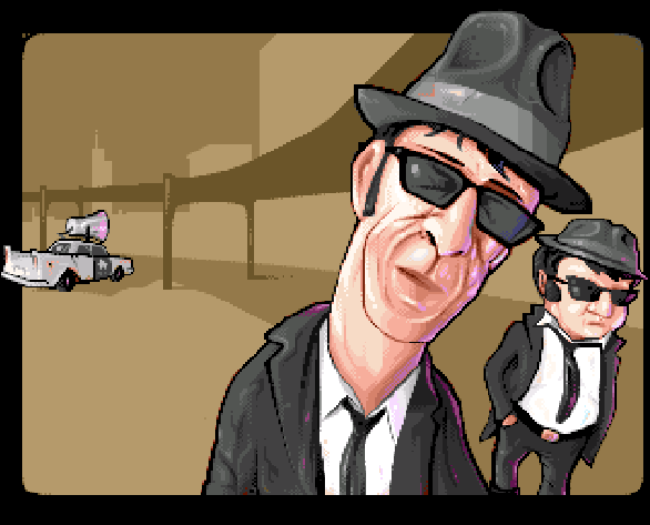 The Blues Brothers Titus Software IBM PC Amstrad CPC Amiga Commodore 64 C64 Atari ST NES Super Nintendo SNES Game Boy GB Xtreme Retro Pixel Art