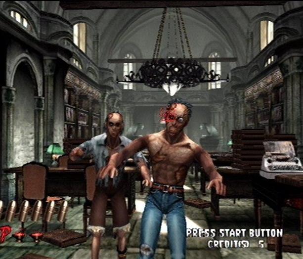The House of the Dead 2 Light Gun Arcade Coin Op Sega Dreamcast Xtreme Retro