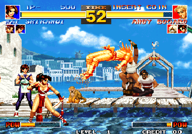 The King of Fighters 95 KOF 95 SNK Arcade Neo Geo CD Sony PlayStation PSX PSone Sega Saturn Fighting Xtreme Retro 2