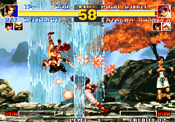 The King of Fighters 95 KOF 95 SNK Arcade Neo Geo CD Sony PlayStation PSX PSone Sega Saturn Fighting Xtreme Retro 3