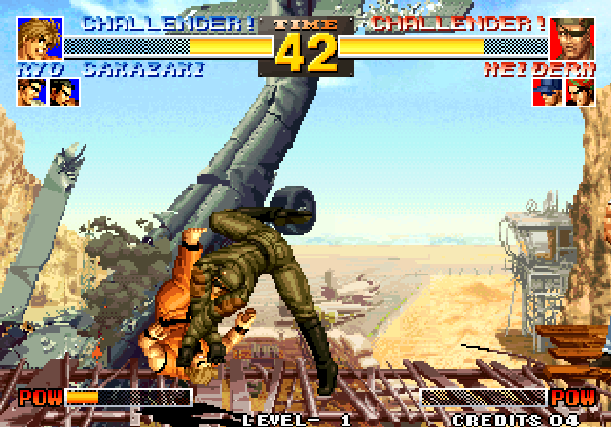 The King of Fighters 95 KOF 95 SNK Arcade Neo Geo CD Sony PlayStation PSX PSone Sega Saturn Fighting Xtreme Retro 4