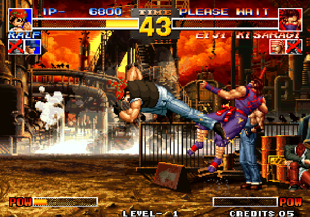 The King of Fighters 95 KOF 95 SNK Arcade Neo Geo CD Sony PlayStation PSX PSone Sega Saturn Fighting Xtreme Retro 5