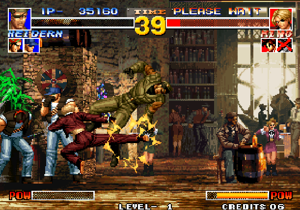 The King of Fighters 95 KOF 95 SNK Arcade Neo Geo CD Sony PlayStation PSX PSone Sega Saturn Fighting Xtreme Retro 6