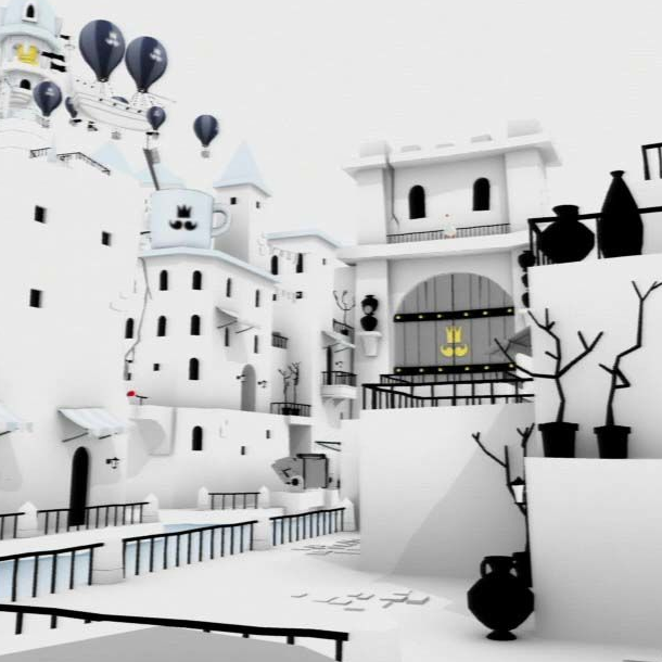 The Unfinished Swan Sony Computer Entertainment Giant Sparrow PlayStation PS3 PS4 PS Vita Xtreme Retro 11