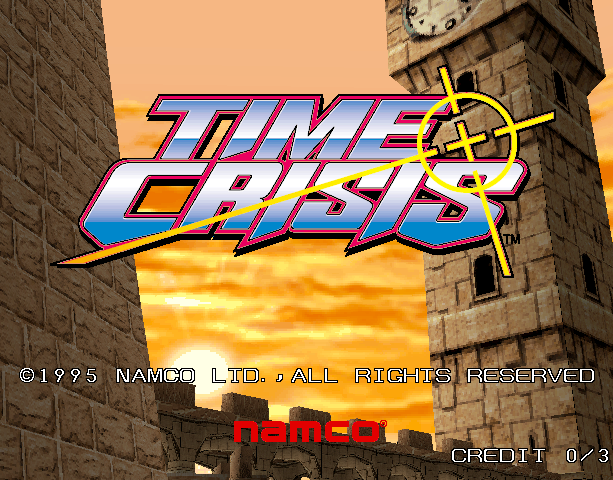 Time Crisis Namco Arcade Coin-Op Sony PlayStation PSX PSone Shooter Xtreme Retro 1