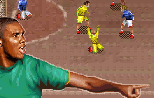 Ultimate Street Football Samuel Eto'o Gameloft Xtreme Retro Pixel Art