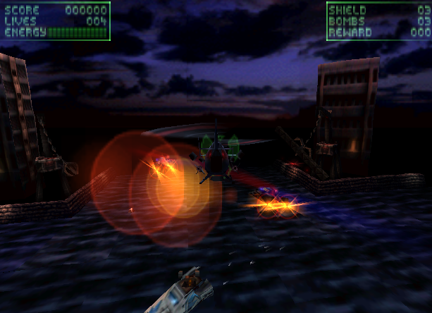 Viper Ocean Software Sony PlayStation PSX PSone Shoot'em up Xtreme Retro 1