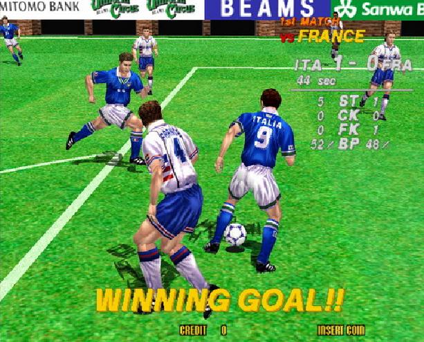 Virtua Striker 2 Version 98 Sega AM2 Model 3 Arcade Coin Op Sports Xtreme Retro 5