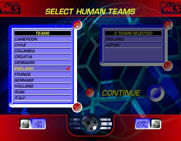 World League Soccer 98 WLS98 Eidos Silicon Dreams Sports Football Sony PlayStation PSX PSone Sega Saturn Windows PC Xtreme Retro 3