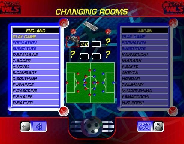 World League Soccer 98 WLS98 Eidos Silicon Dreams Sports Football Sony PlayStation PSX PSone Sega Saturn Windows PC Xtreme Retro 4