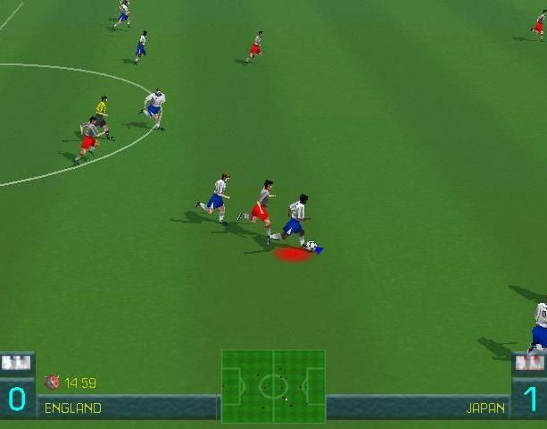 World League Soccer 98 WLS98 Eidos Silicon Dreams Sports Football Sony PlayStation PSX PSone Sega Saturn Windows PC Xtreme Retro 8