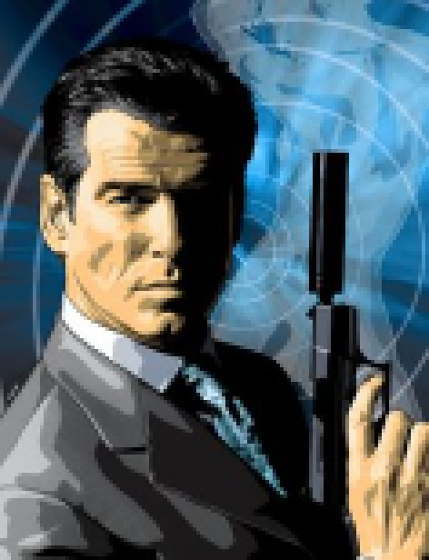 007 NightFire Electronic Arts Gearbox Software FPS Sony PlayStation 2 PS2 Nintendo GameCube GC Microsoft Xbox Windows PC Macintosh Pixel Art Xtreme Retro
