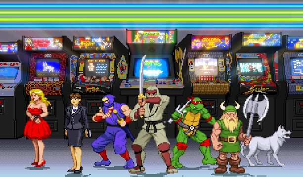 Arcades Old School Retro Videogames Pixel Art Xtreme Retro