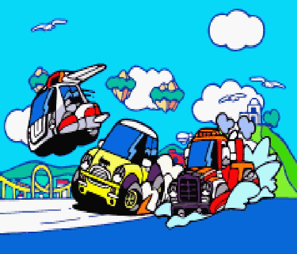 choro-q3-penny-racers-takara-tansoft-sony-playstation-psx-psone-racing-pixel-art-xtreme-retro
