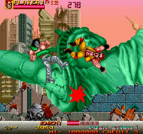 crude-buster-two-crude-dudes-data-east-arcade-coin-op-sega-genesis-mega-drive-md-xtreme-retro
