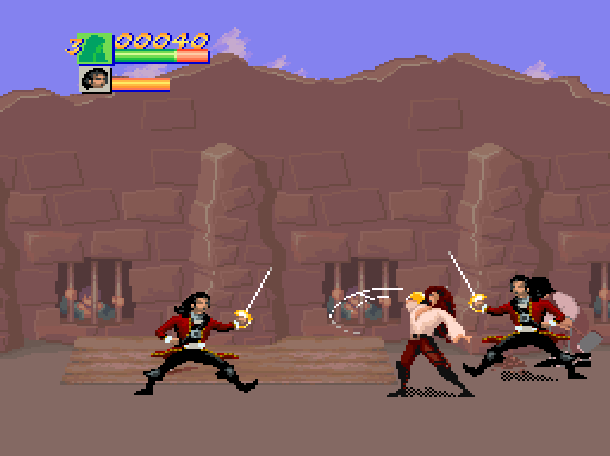 Cutthroat Island Software Creations Acclaim Beat'em up Super Nintendo SNES Xtreme Retro