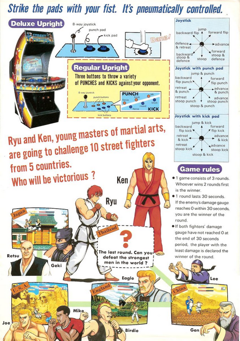 street-fighter-1-arcade-coin-op-capcom-1987-flyer-xtreme-retro