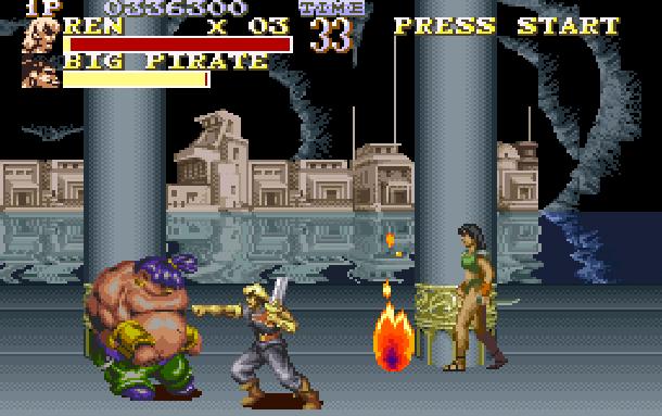 The Pirates of Dark Water Sunsoft Super Nintendo SNES Beat'em up Xtreme Retro 10